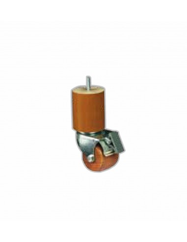 Pied Rouleau M18 avec frein